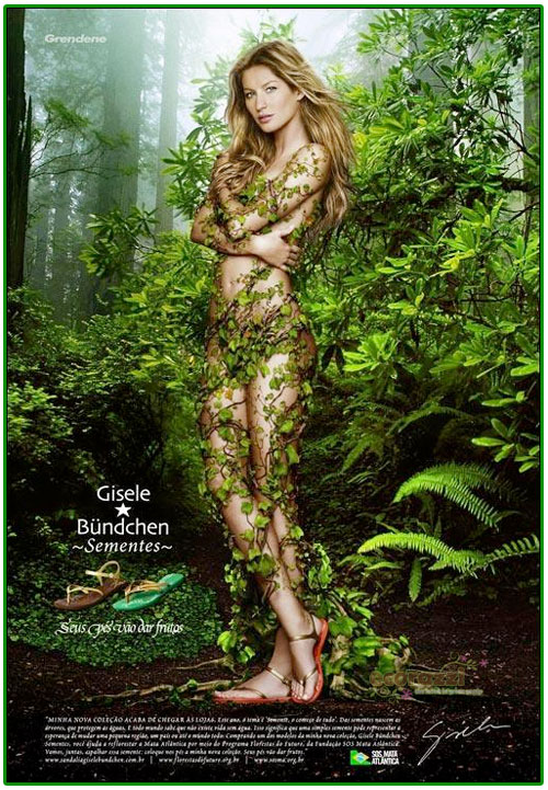 Giselle Bundchen nackt